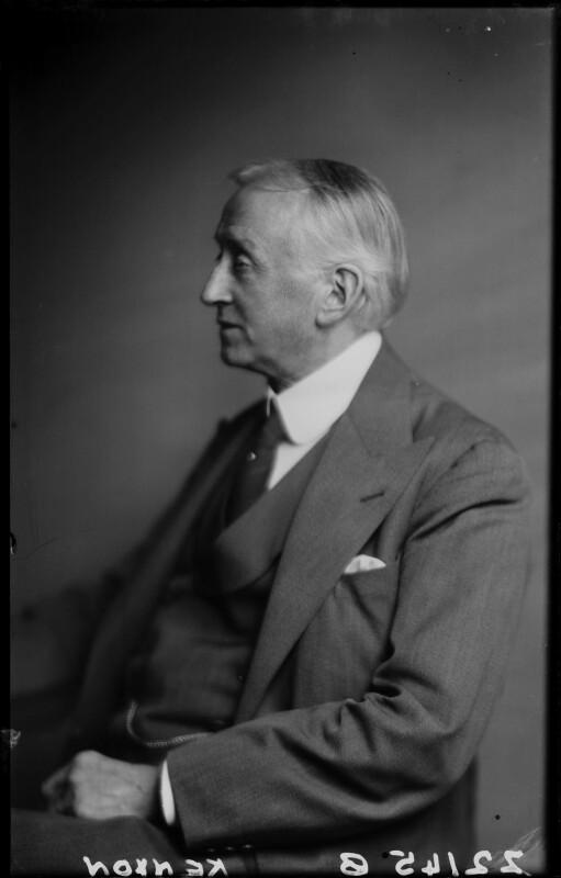 Sir Harold Vaughan Kenyon, by Walter Stoneman, December 1945 - NPG x187646 - © National Portrait Gallery, London