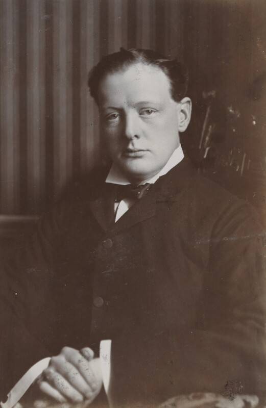 Winston Churchill, by Reginald Haines, circa 1907 - NPG P1700(86d) - © National Portrait Gallery, London