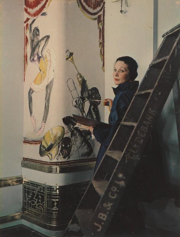 Doris Zinkeisen, by Madame Yevonde, January 1936 - NPG P1838 - © Yevonde Portrait Archive