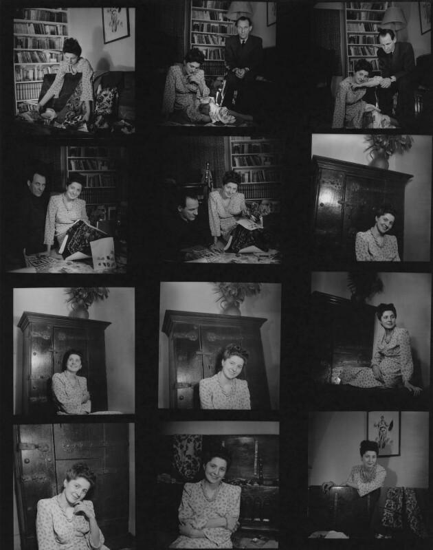 Zika Ascher; Lida Ascher, by Francis Goodman, 1940s - NPG x195116 - © National Portrait Gallery, London