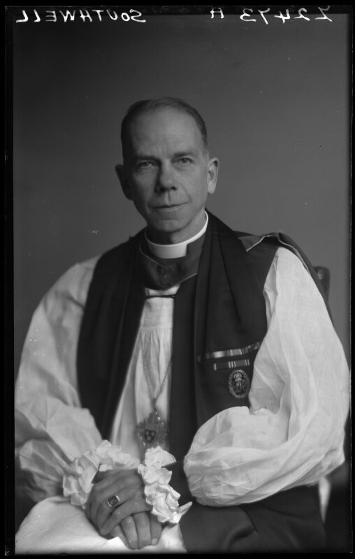 (Frank) Russell Barry, by Walter Stoneman, 14 October 1946 - NPG x188312 - © National Portrait Gallery, London