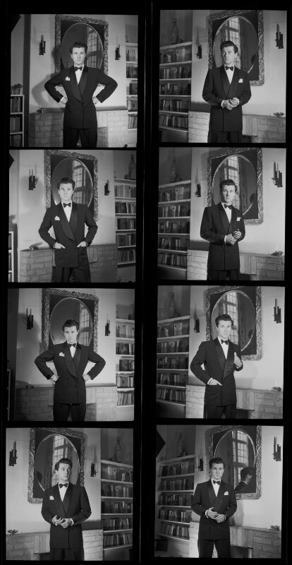Bryan Forbes, by Francis Goodman, 4 April 1951 - NPG x195262 - © National Portrait Gallery, London