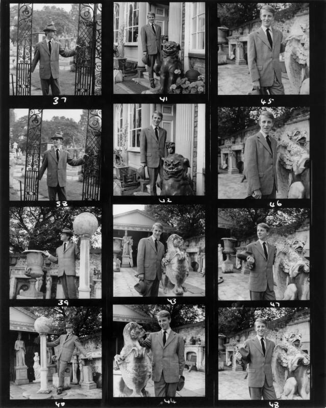 Gerald McCann, by Francis Goodman, 24 September 1960 - NPG x195325 - © National Portrait Gallery, London