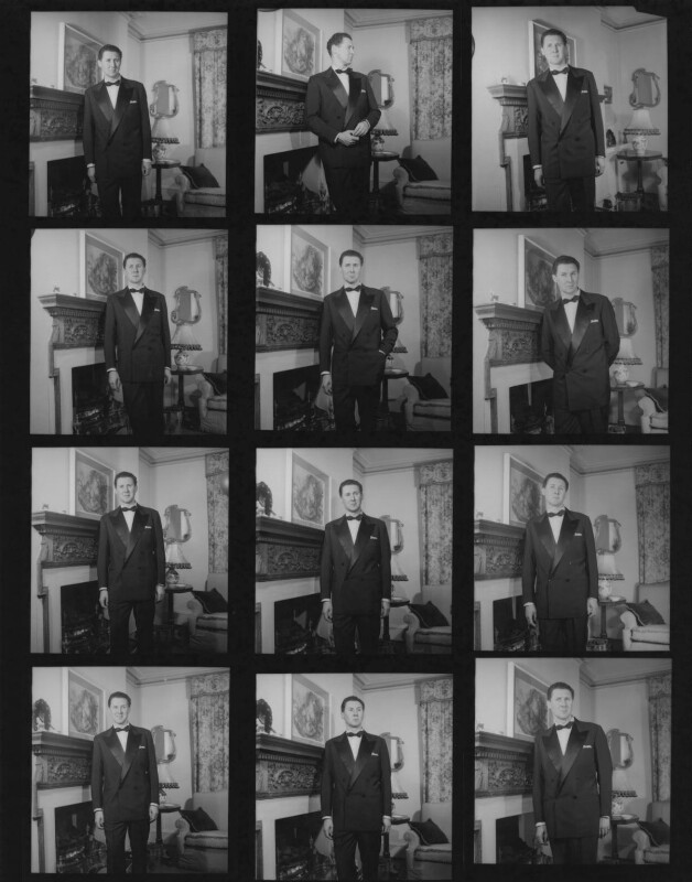 Anthony Quayle, by Francis Goodman, 1952-1953 - NPG x195368 - © National Portrait Gallery, London