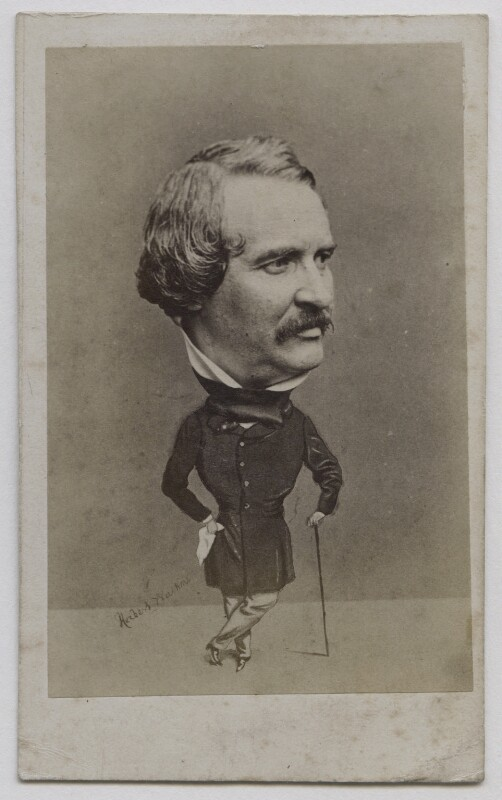Walter Lacy (Walter Williams), by (George) Herbert Watkins, 1850s - NPG x137553 - © National Portrait Gallery, London