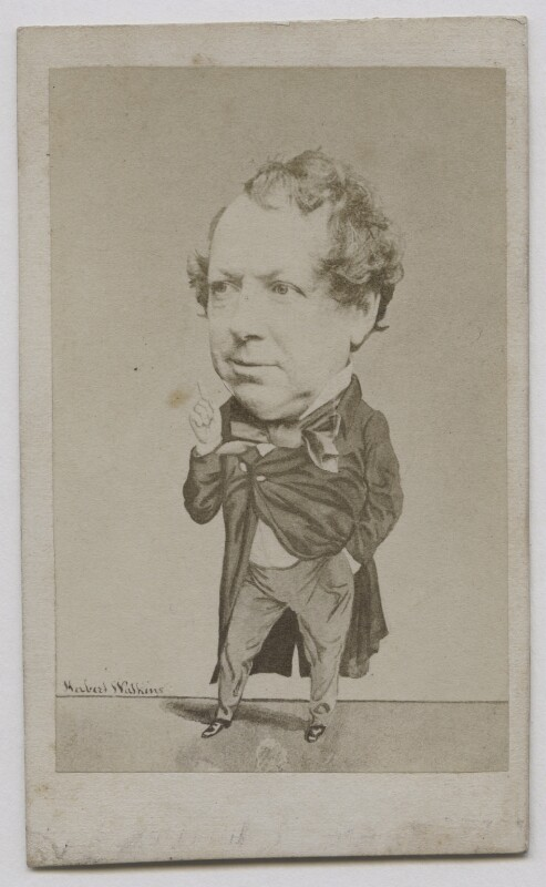 John Baldwin Buckstone, by Herbert Watkins, late 1850s - NPG x137554 - © National Portrait Gallery, London