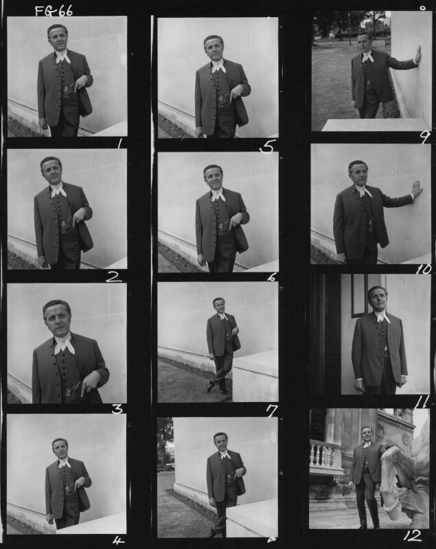 Leo Abse, by Francis Goodman, July 1965 - NPG x195482 - © National Portrait Gallery, London