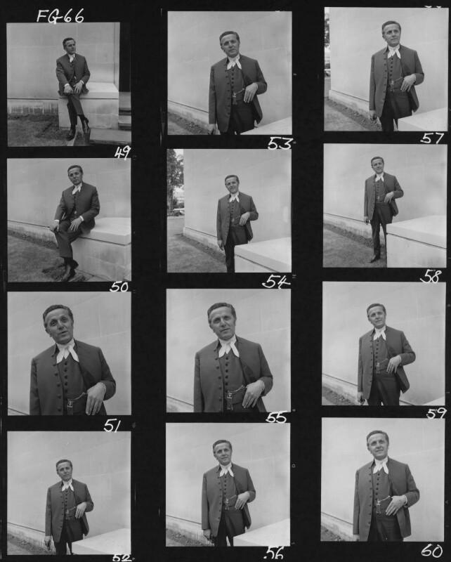 Leo Abse, by Francis Goodman, July 1965 - NPG x195486 - © National Portrait Gallery, London