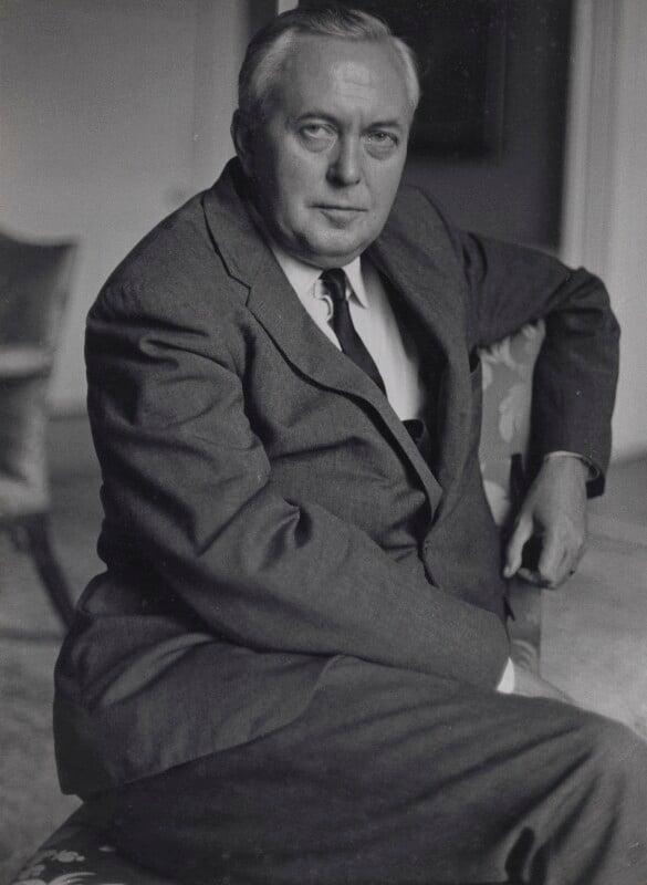 Harold Wilson, by Ruskin Spear, 1966 - NPG x137578 - © estate of Ruskin Spear / Bridgeman Art Library www.bridgemanart.com