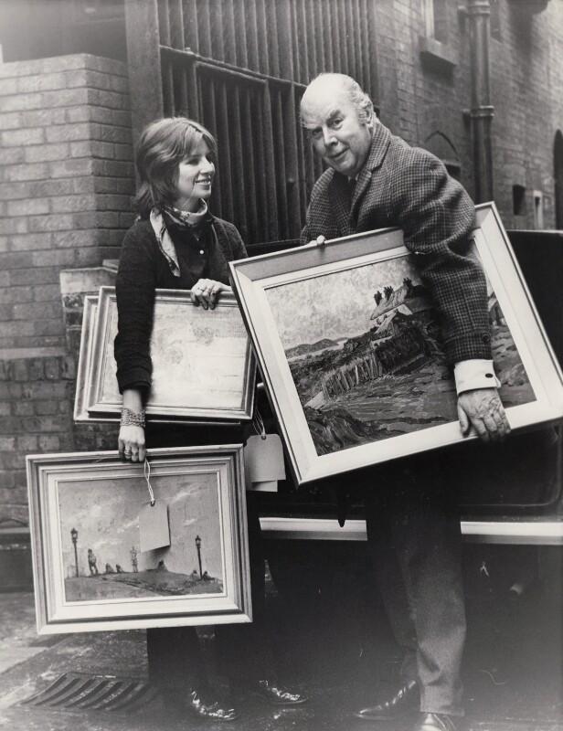 Sophie Tise (née Batsford); Sir Brian Caldwell Cook Batsford, by Sport & General Press Agency Ltd, 23 March 1970 - NPG x184190 -