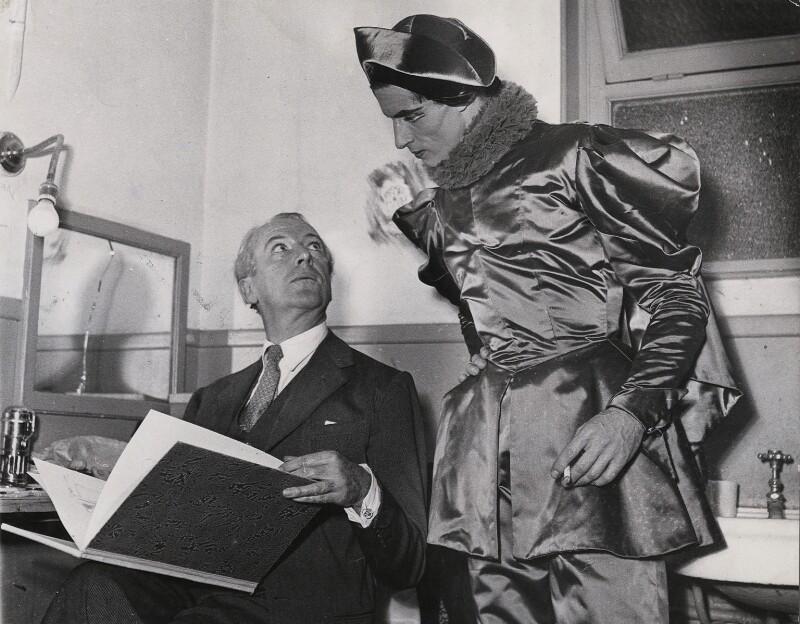 Cecil Beaton; Youly Algaroff, by Keystone Press Agency Ltd, 15 November 1949 - NPG x184195 - © Keystone Press Agency Ltd