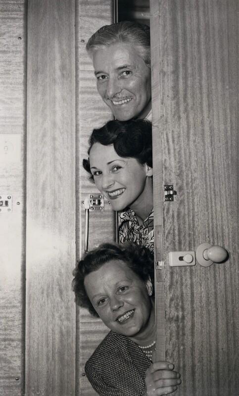 Edna Best; Benita Hume; Ronald Colman, by P.A. Reuter Photos Ltd, 20 May 1948 - NPG x184216 - © EMPICS