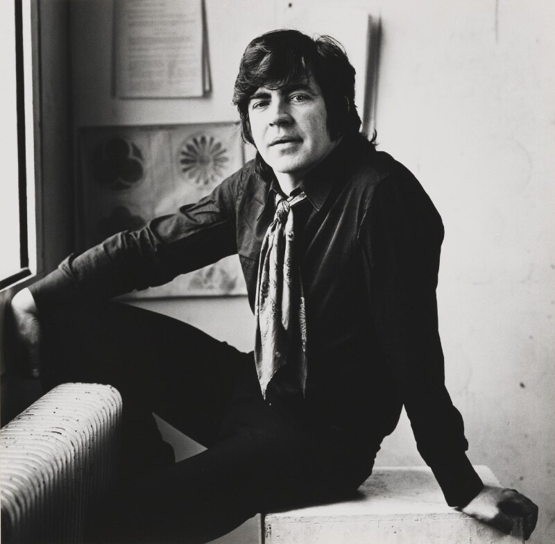 Sir Alan Bates, by Lord Snowdon, 9 May 1972 - NPG P1850 - © Armstrong Jones