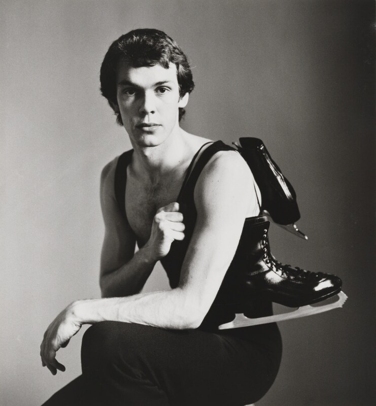 John Curry, by Lord Snowdon, 23 June 1976 - NPG P1866 - © Armstrong Jones