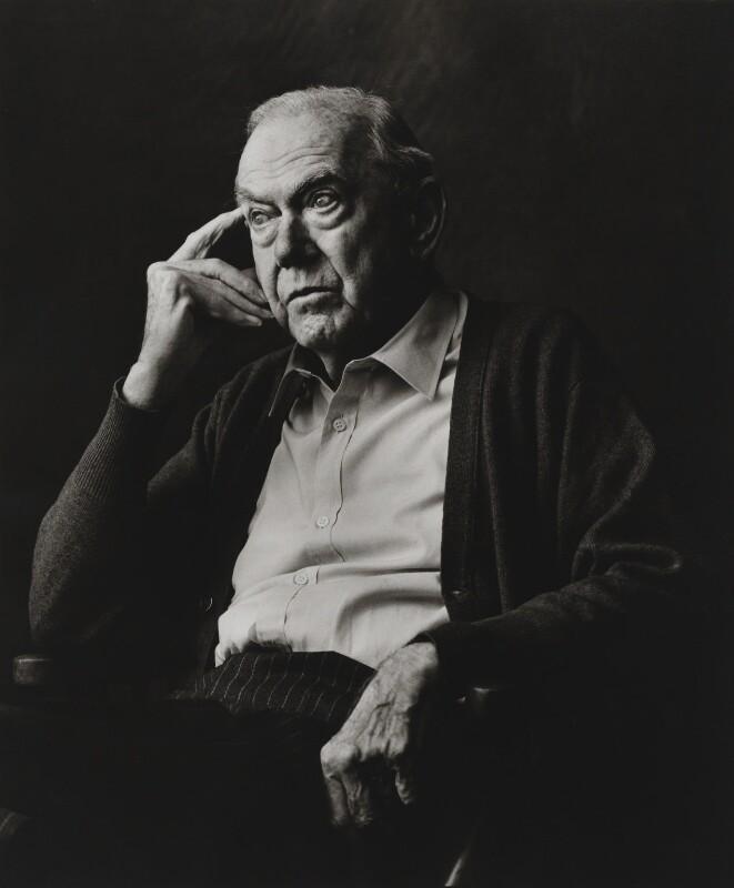 Graham Greene, by Lord Snowdon, 1984 - NPG P1878 - © Armstrong Jones