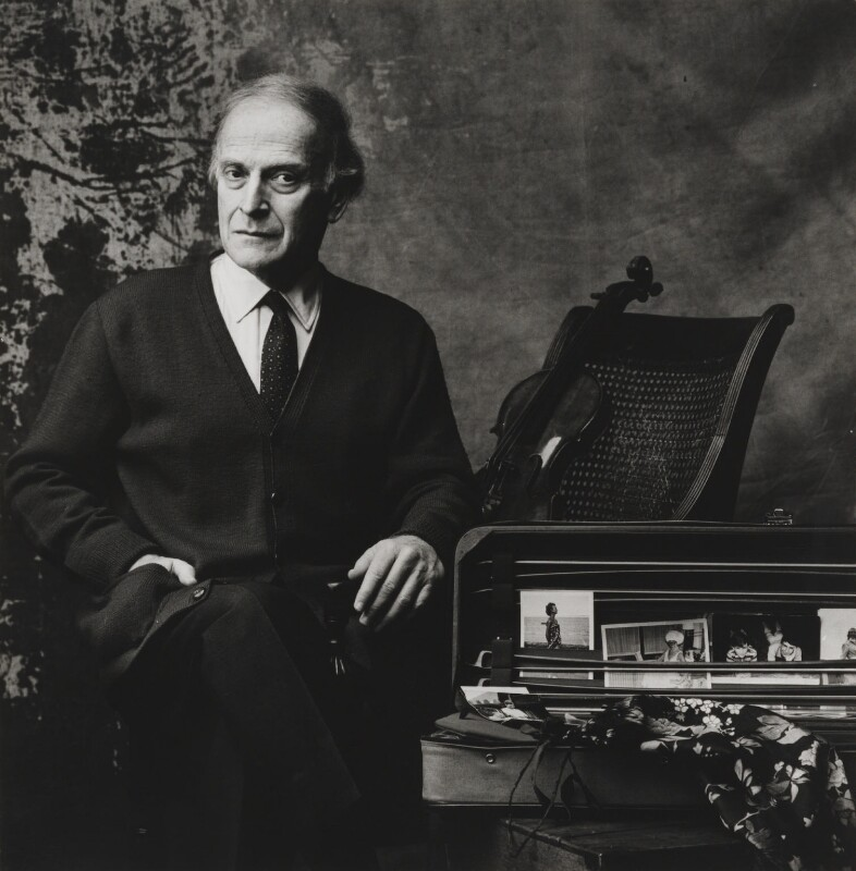 Yehudi Menuhin, by Lord Snowdon, 15 December 1981 - NPG P1900 - © Armstrong Jones