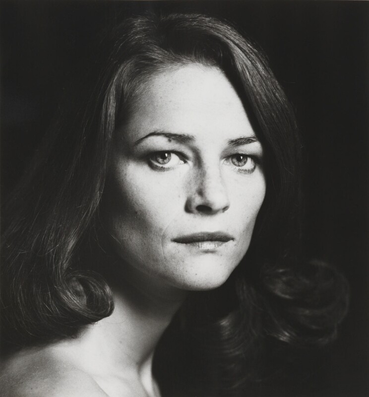 Charlotte Rampling, by Lord Snowdon, 12 March 1976 - NPG P1911 - © Armstrong Jones