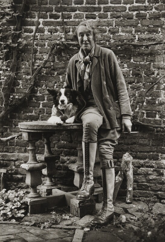 Vita Sackville-West, by Lord Snowdon, 5 June 1961 - NPG P1917 - © Armstrong Jones