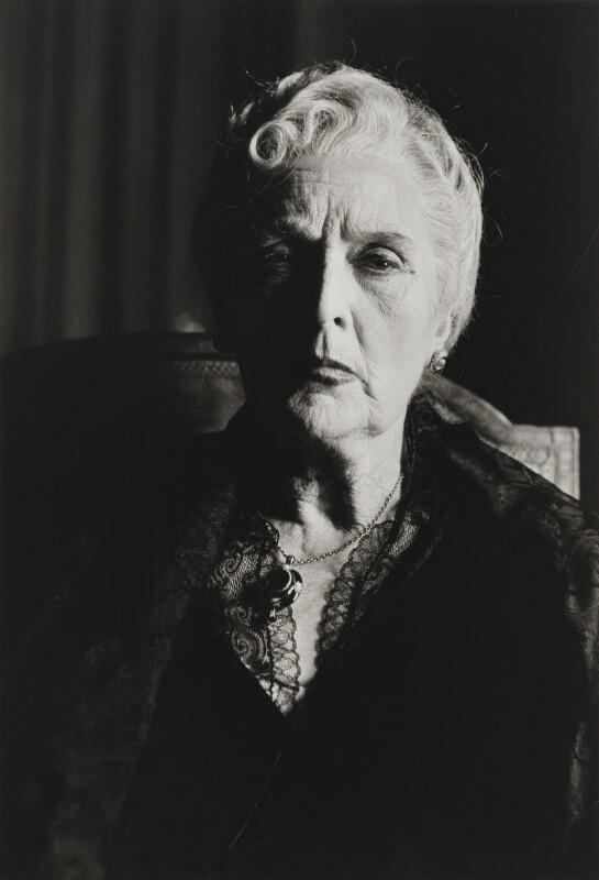 Sybil Thorndike, by Lord Snowdon, 1956 - NPG P1930 - © Armstrong Jones