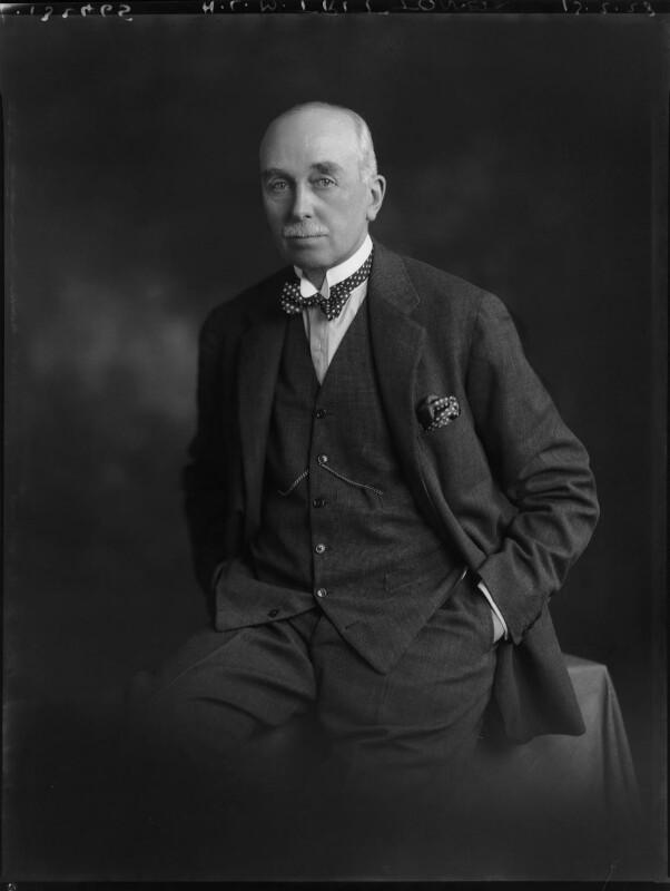 Herbert Leslie Melville Tritton, by Lafayette (Lafayette Ltd), 13 February 1928 - NPG x49566 - © National Portrait Gallery, London