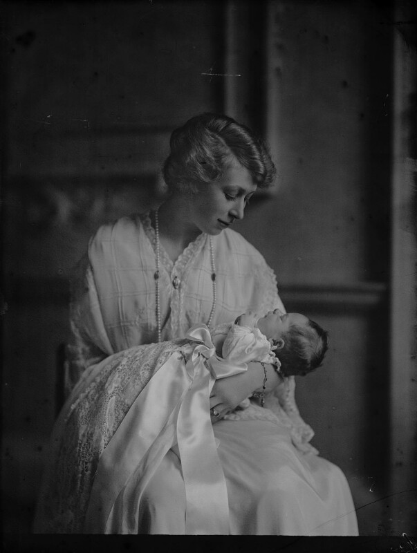 George Lascelles, 7th Earl of Harewood; Princess Mary, Countess of Harewood, by Bassano Ltd, 9 March 1923 - NPG x158877 - © National Portrait Gallery, London