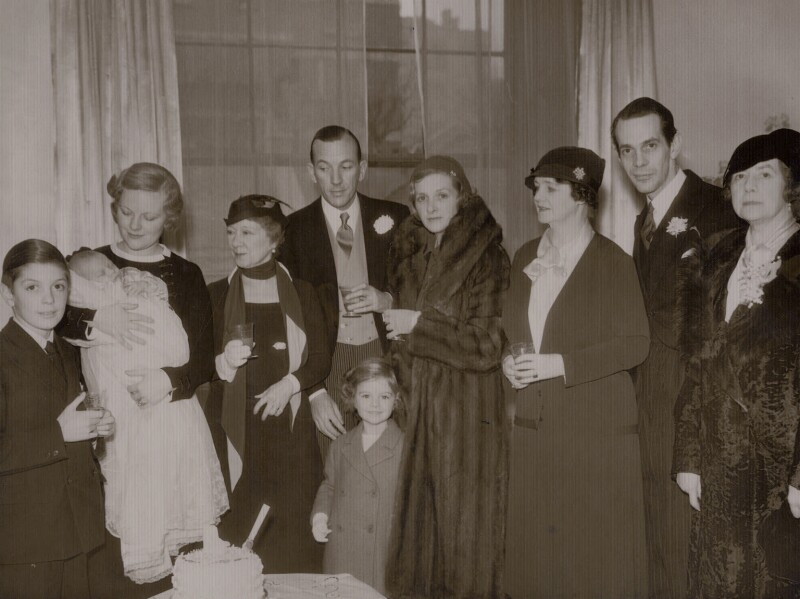 Daniel Massey's Christening party, by Sasha (Alexander Stewart), 28 November 1933 - NPG x137630 - © Hulton Archive/Getty Images