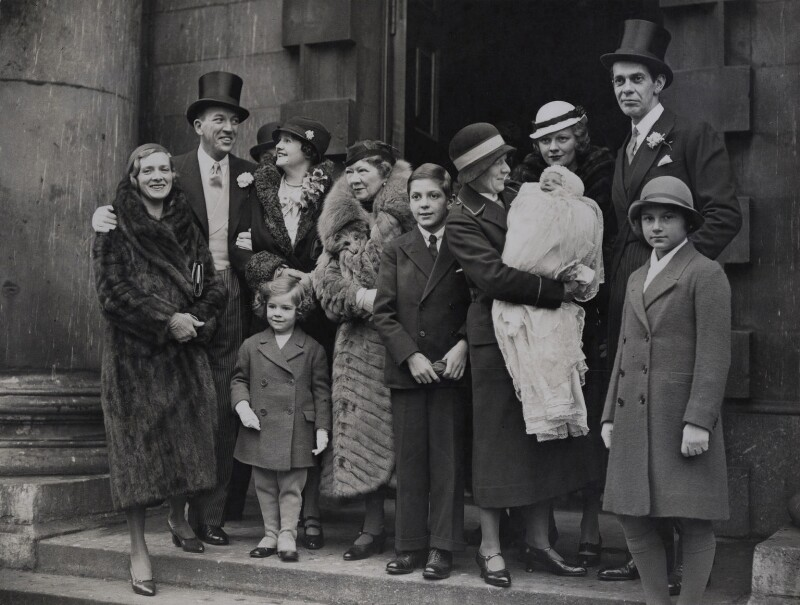 Daniel Massey's Christening party, by London News Agency, 1933 - NPG x137631 - © National Portrait Gallery, London