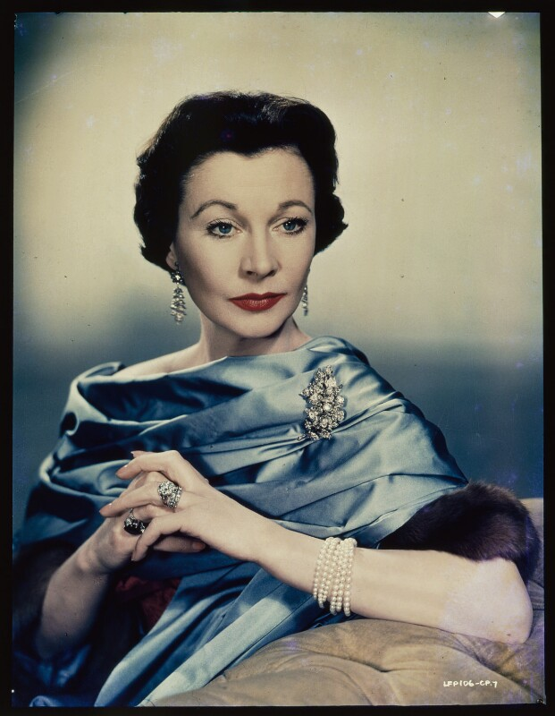 Vivien Leigh, by Unknown photographer, 1955 - NPG x137697 - © reserved; collection National Portrait Gallery, London