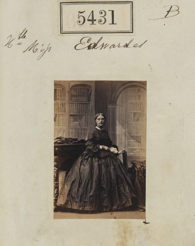 Hon. Louisa Jane Newenham (née Edwardes), by Camille Silvy, 10 August 1861 - NPG Ax55391 - © National Portrait Gallery, London