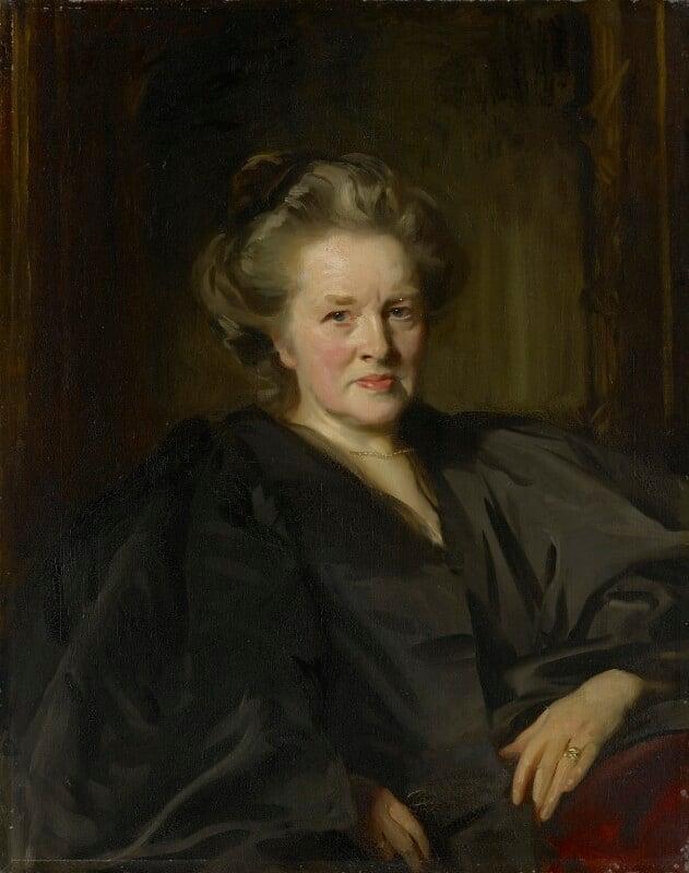 Elizabeth Garrett Anderson, by John Singer Sargent, 1900 -NPG L254 -