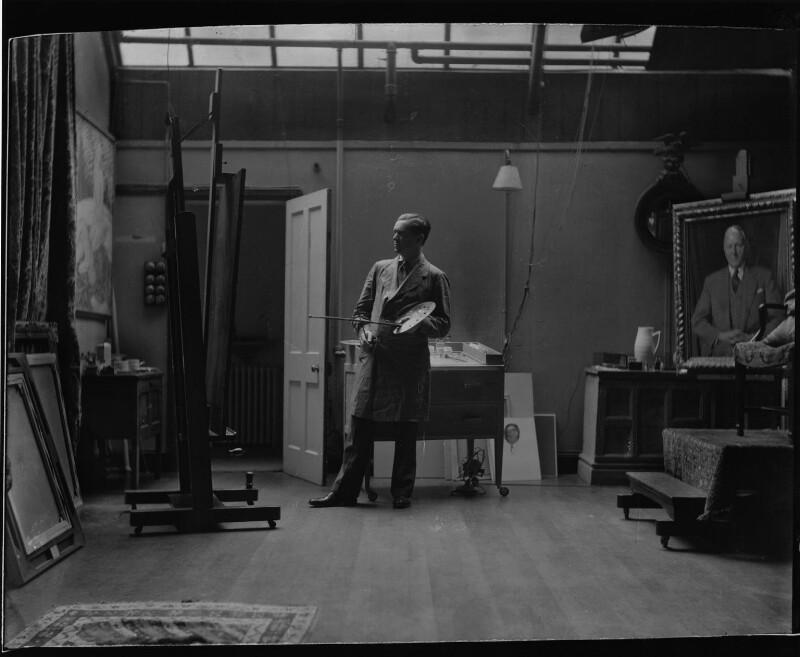 James Gunn, by Paul Laib, 1940s - NPG x137727 - The de Laslzo Collection of Paul Laib Negatives, Witt Library, The Courtauld Institute of Art, London © The de Laslzo Foundation