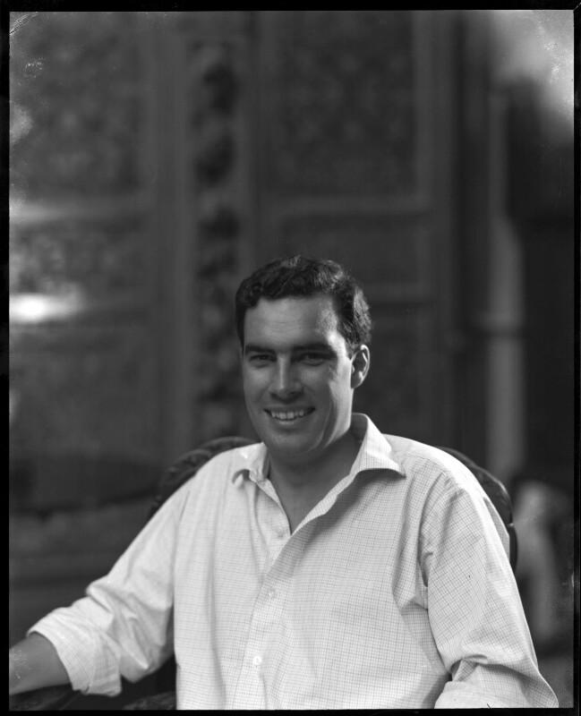 Paul Munro Gunn, by Paul Laib, circa 1966 - NPG x137734 - The de Laslzo Collection of Paul Laib Negatives, Witt Library, The Courtauld Institute of Art, London © The de Laslzo Foundation