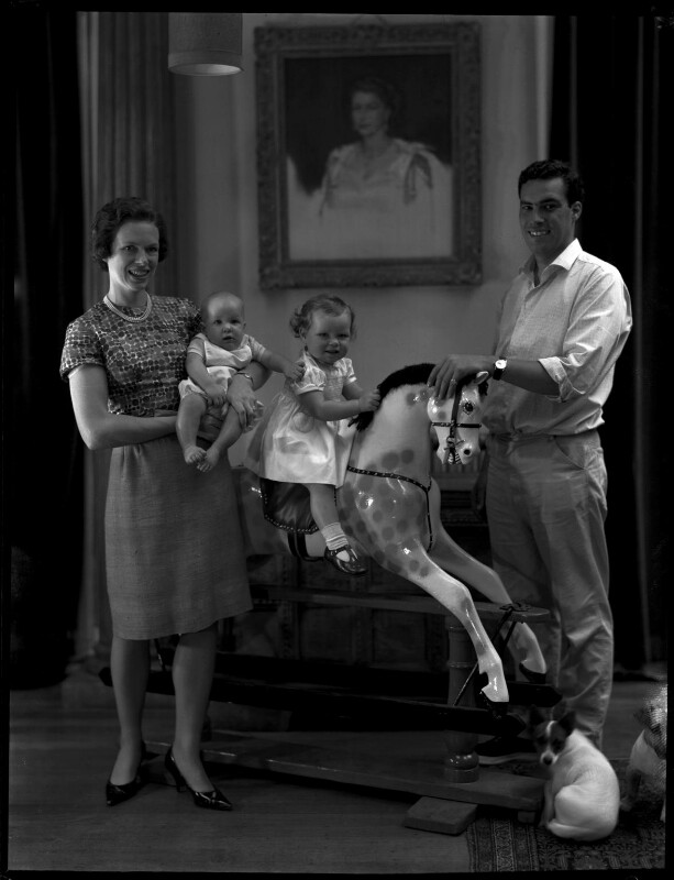 Paul Munro Gunn and family, by Paul Laib, circa 1966 - NPG x137739 - The de Laslzo Collection of Paul Laib Negatives, Witt Library, The Courtauld Institute of Art, London © The de Laslzo Foundation