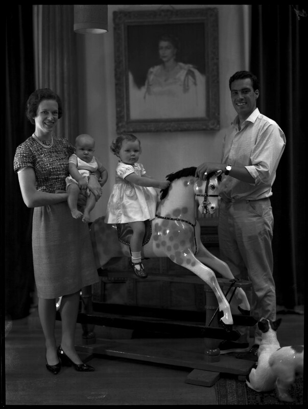Paul Munro Gunn and family, by Paul Laib, circa 1966 - NPG x137740 - The de Laslzo Collection of Paul Laib Negatives, Witt Library, The Courtauld Institute of Art, London © The de Laslzo Foundation
