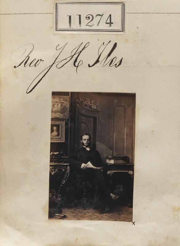 John Hodgson Iles, by Camille Silvy, 13 August 1862 - NPG Ax60969 - © National Portrait Gallery, London