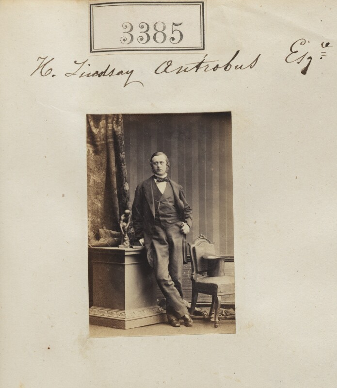 Hugh Lindsay Antrobus, by Camille Silvy, 30 April 1861 - NPG Ax52782 - © National Portrait Gallery, London