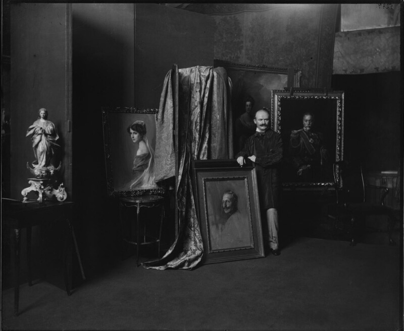 Philip Alexius de László, by Paul Laib, 1910s - NPG x137749 - The de Laslzo Collection of Paul Laib Negatives, Witt Library, The Courtauld Institute of Art, London © The de Laslzo Foundation