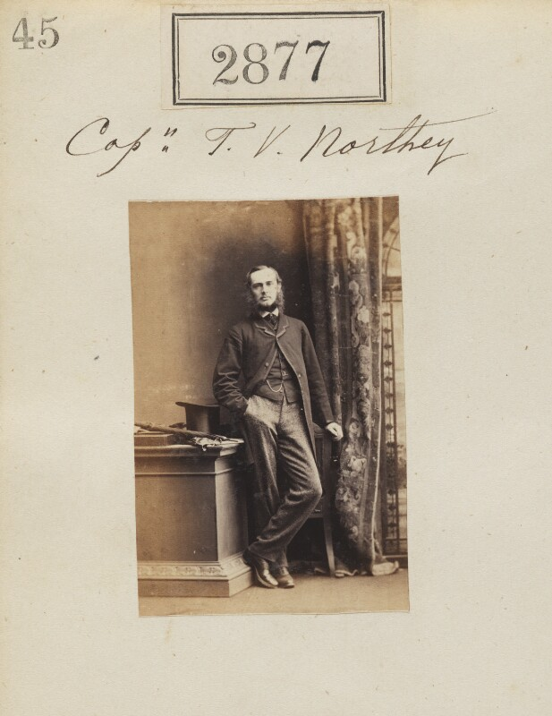 Francis Vernon Northey, by Camille Silvy, 5 April 1861 - NPG Ax52266 - © National Portrait Gallery, London