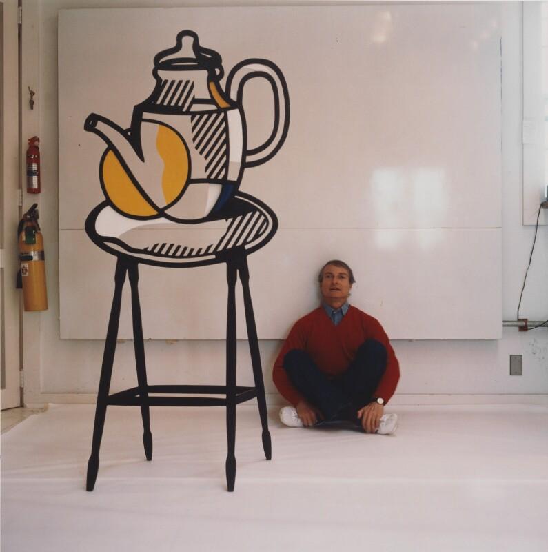Roy Lichtenstein, by Horst P. Horst, 1978 - NPG x137757 - © Horst