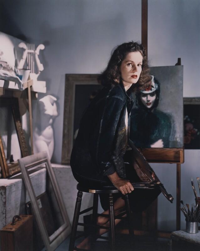 Lily Cushing, by Horst P. Horst, 1942 - NPG x137760 - © Horst