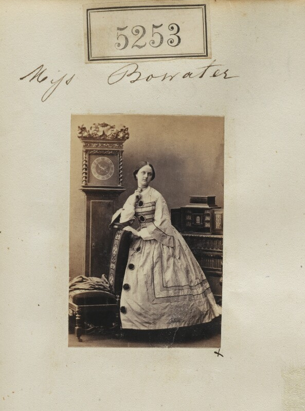 Louisa Mary (née Bowater), Lady Knightley, by Camille Silvy, 30 July 1861 - NPG Ax137764 - © National Portrait Gallery, London