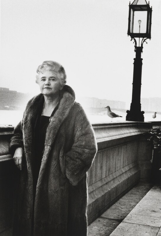 Jennie Lee, by Michael Peto, January 1965 - NPG x137673 - © University of Dundee The Peto Collection