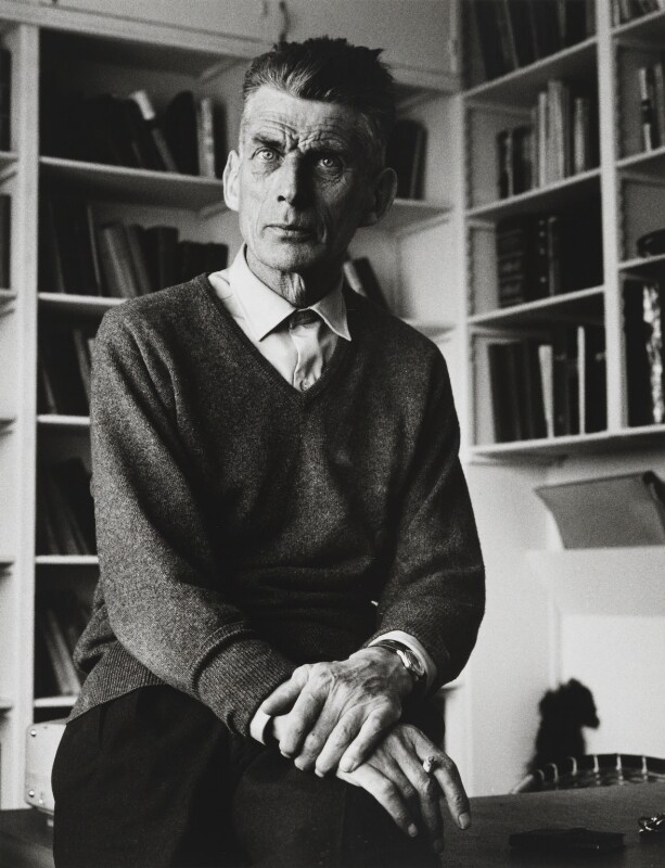 Samuel Beckett, by Michael Peto, May 1961 - NPG x137676 - © University of Dundee The Peto Collection