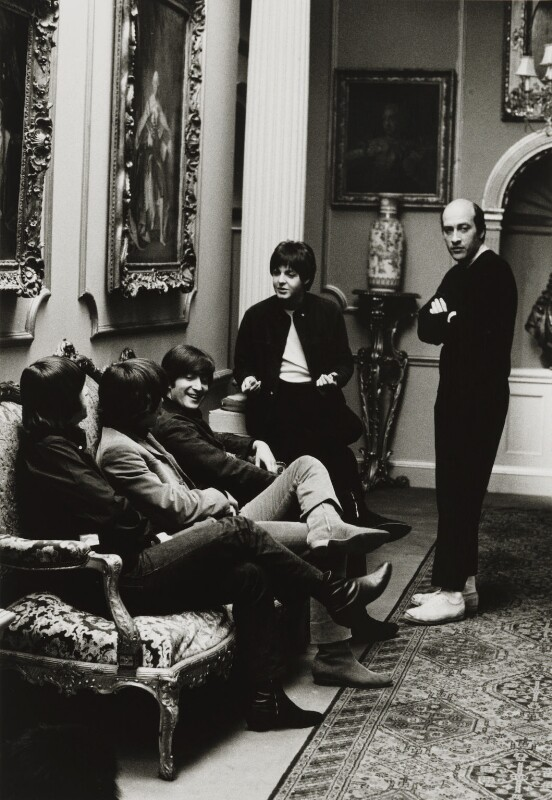 The Beatles with Richard Lester, by Michael Peto, 12 April 1965 - NPG x137678 - © University of Dundee The Peto Collection