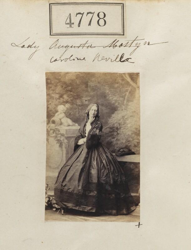 Lady Caroline Emily Nevill, by Camille Silvy, 5 July 1861 - NPG Ax54789 - © National Portrait Gallery, London