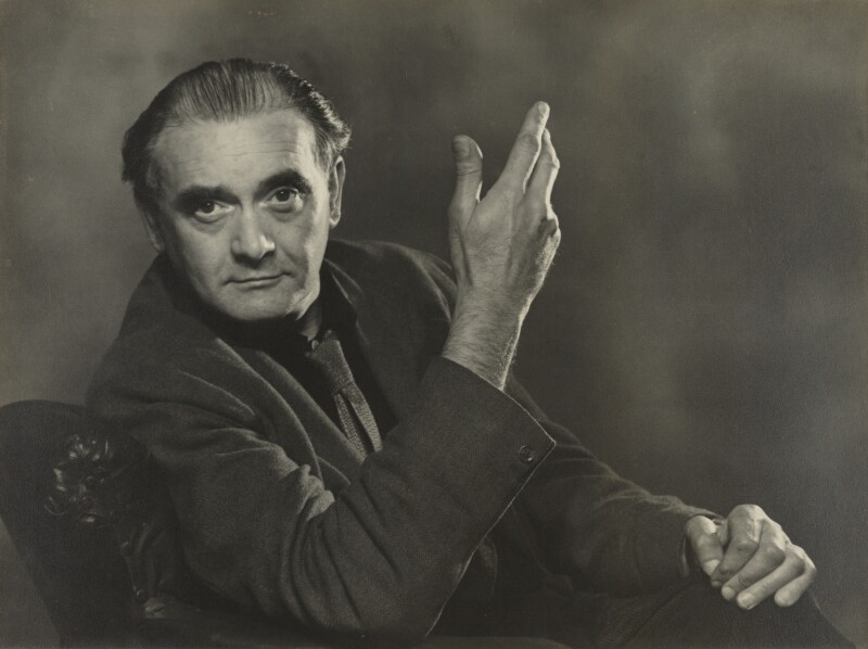 Karl Pollak, by Fred Veal, circa 1952 - NPG x137777 - © reserved; National Portrait Gallery, London