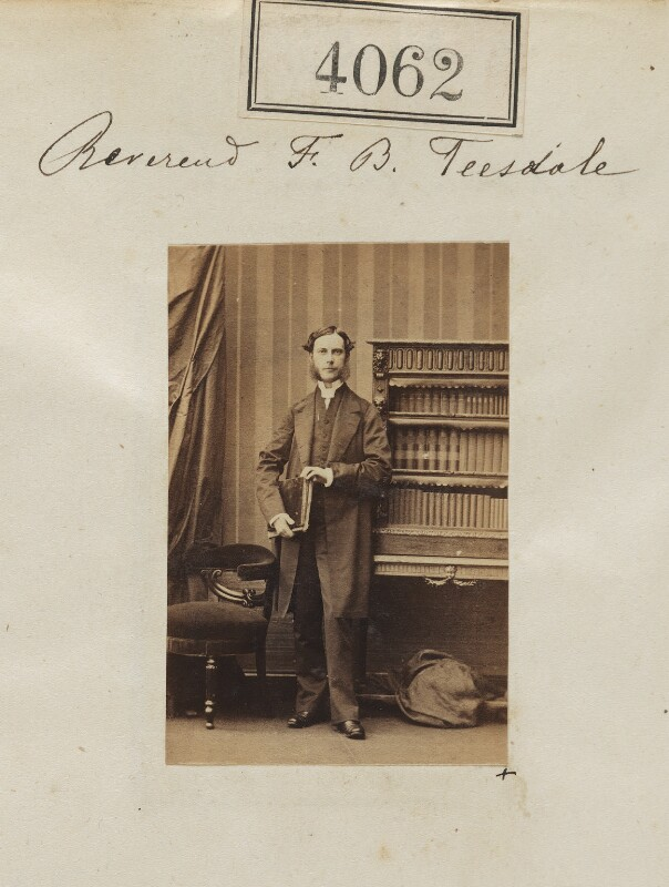 Francis Barlow Teesdale, by Camille Silvy, 31 May 1861 - NPG Ax54077 - © National Portrait Gallery, London