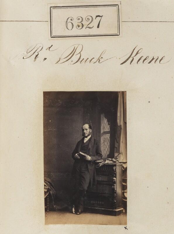 Benjamin Ruck Keene, by Camille Silvy, 1 November 1861 - NPG Ax56272 - © National Portrait Gallery, London