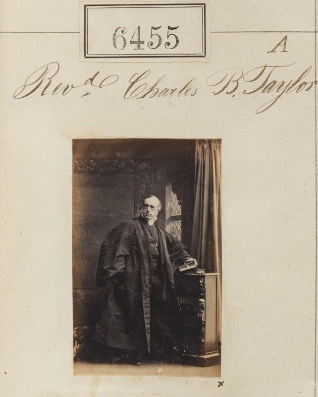 Charles Benjamin Tayler, by Camille Silvy, 14 November 1861 - NPG Ax56389 - © National Portrait Gallery, London