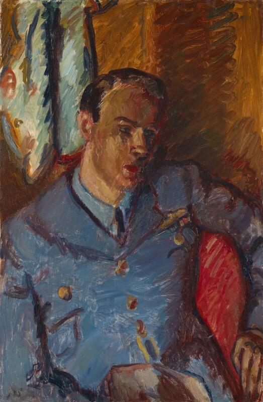 Roald Dahl, by Sir Matthew Smith, circa 1944 - NPG L255 - © the Estate of Sir Matthew Bracy Smith